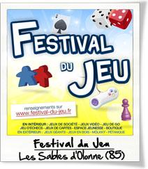 Festival du jeu Les Sables d'Olonne