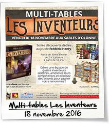Multi-tables Les Inventeurs