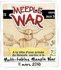 Multi-tables Meeple War