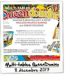 Multi-Tables Queen Domino