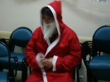 Vincent, en faux père Noël : personne ne vient le voir le pauvr\'