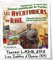 Tournoi des aventuriers du rail 2013