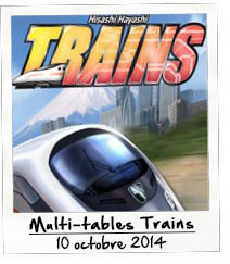 Multi-tables Trains 2014