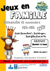 Affiche jeux en famille Novembre  2015