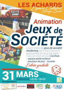 Animation Jeux de Société aux Achards