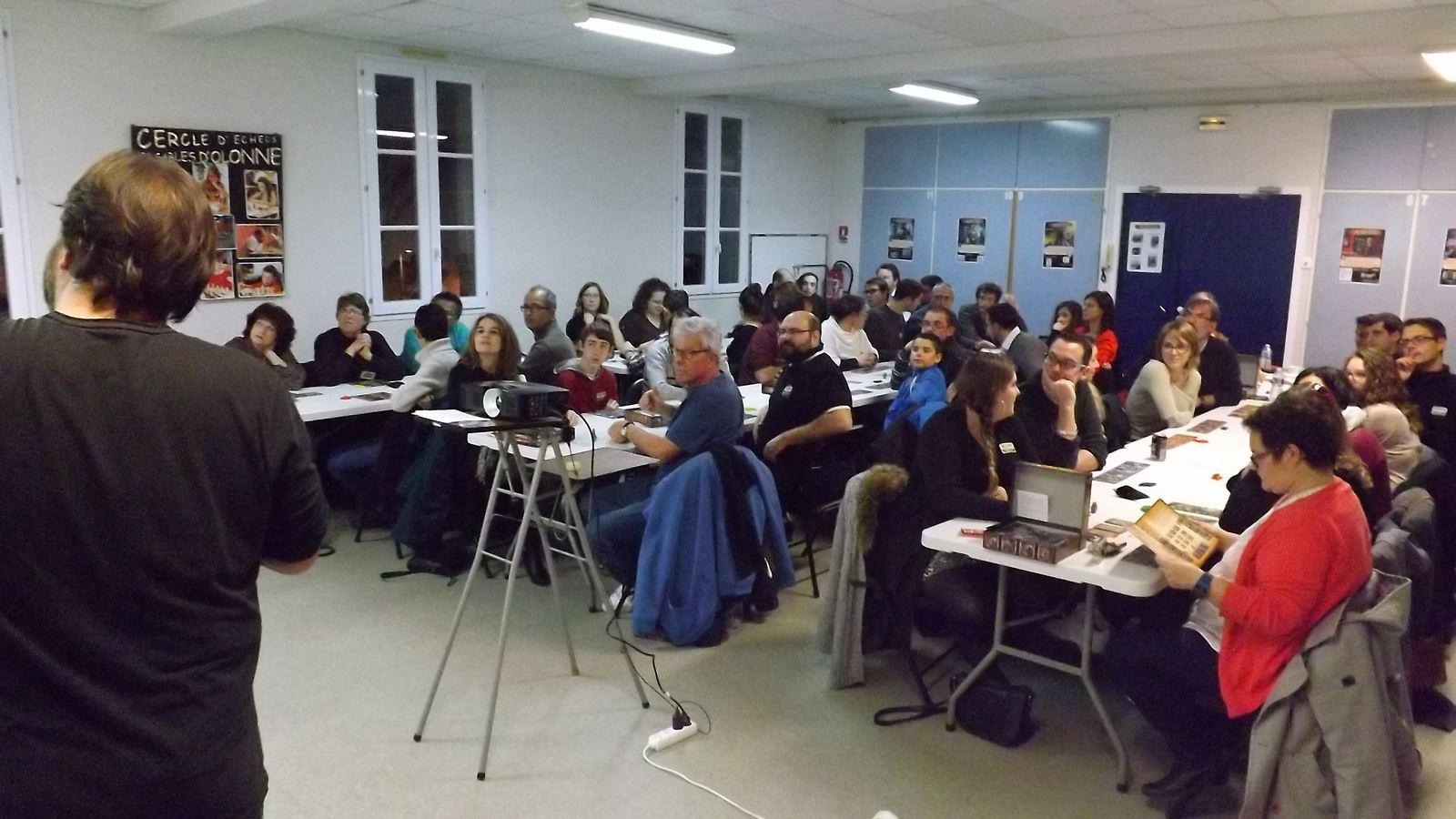 Multi-tables Les Inventeurs, 45 participants